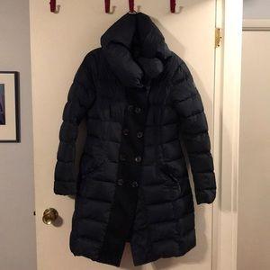 add black down coat
